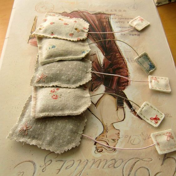 tea bag lavender sachets: