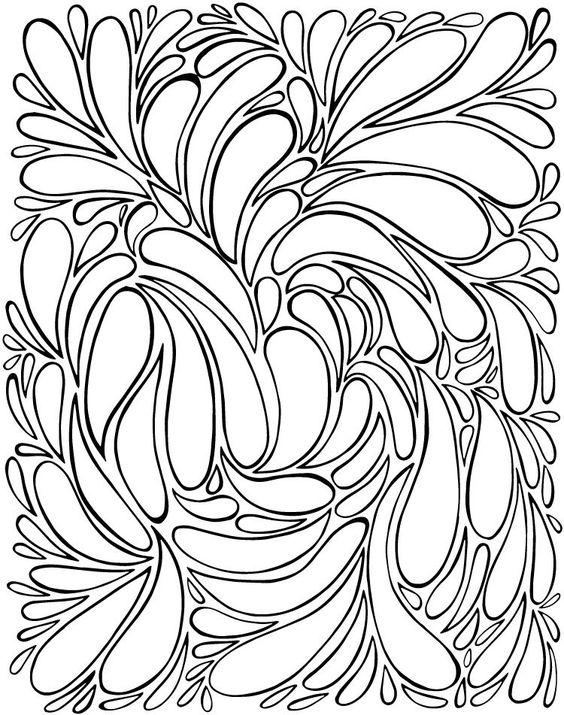 Free Coloring Page for Adults or Kids All you need to do