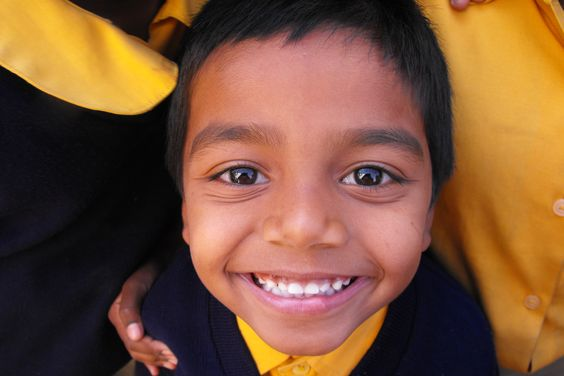 Amazing picture of a Christel House India student!