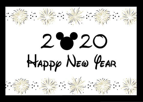 Happy New Year 2020 With Gold Firework Mickey Mouse Head Download Pdf Happy New Year Quotes Disney Happy New Year Happy New Year Quotes Funny