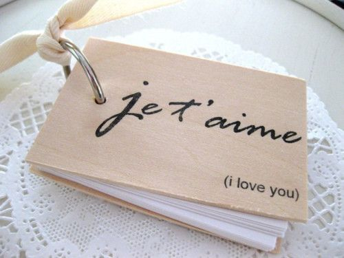 je t'aime coffee table book