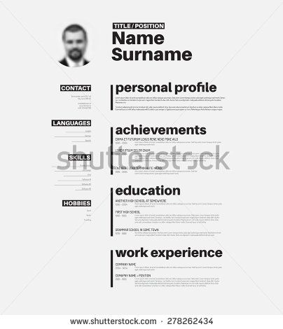 17 Best images about Cv on Pinterest Behance, Graphic design - junior graphic designer resume