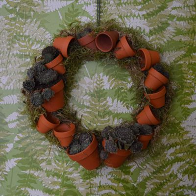 Add shells and beach treasures - or pine cones and seed pods - or special wine corks. Just glue them on to create sensational wreaths and special gifts. #gardening #homedecor #wreath