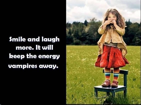 smile and laugh more