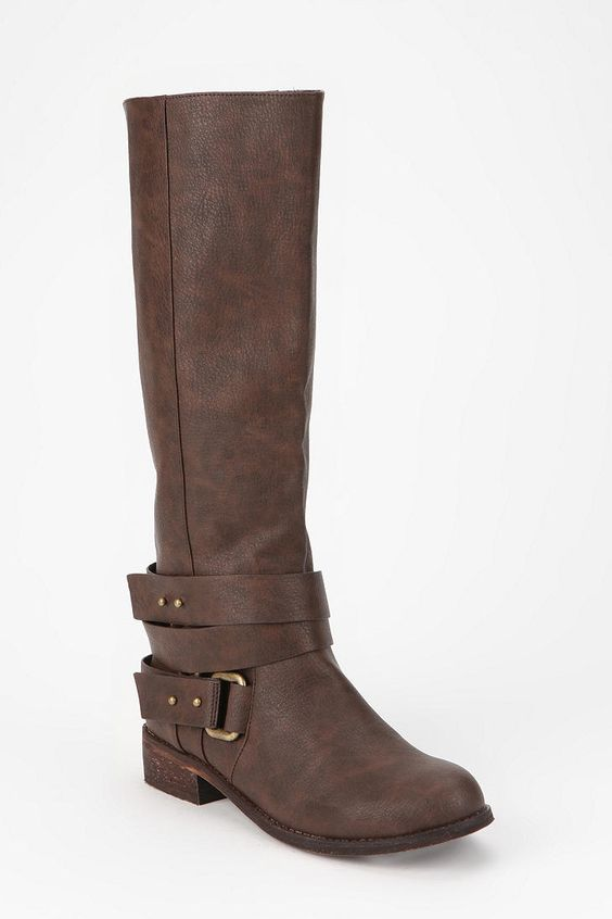 Ecote Multi-Strap Tall Boot  #UrbanOutfitters