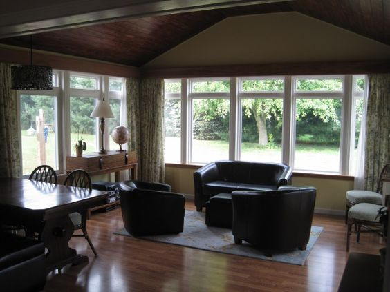 Room additions bays and dining rooms on pinterest - Dining room addition ...