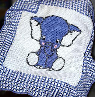 Crochet Baby Blanket / Afghan pattern.
