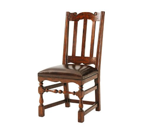 Country Seat Sidechair How To Antique Wood Chair