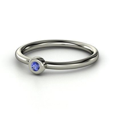 Sapphire Ring - simple and pretty