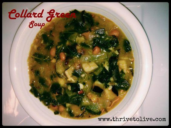 Collard Green Soup | Thrive: Faith, Family & Food