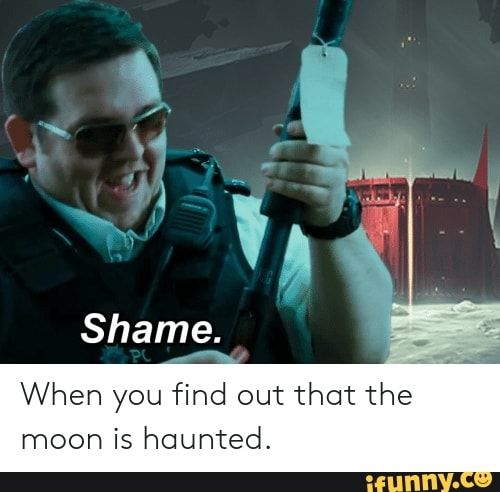 When You Ϭnd Out That The Moon Is Haunted Ifunny Destiny Comic Destiny Game Destiny Video Game