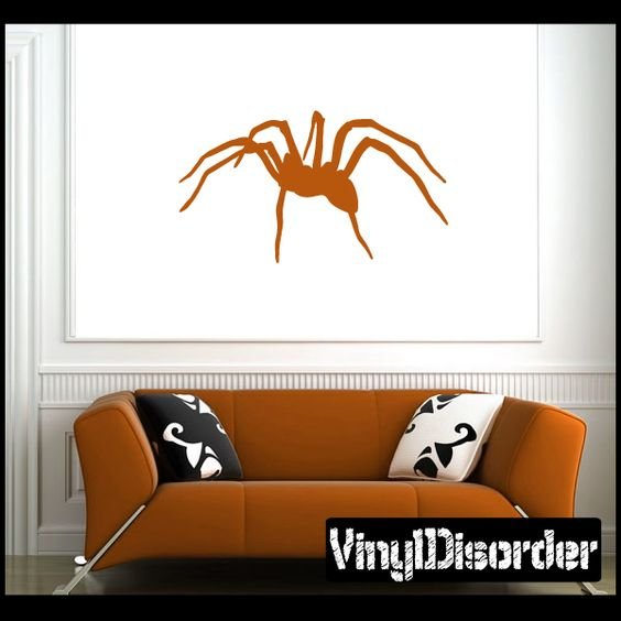 Spider Wall Decal - Vinyl Decal - Car Decal - NS002