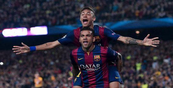 Sports News : CHAMPIONS LEAGUE: NEYMAR DOUBLE EASES BARCELONA PAST POOR PSG @ http://goo.gl/XmdQGb