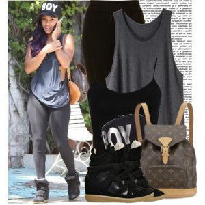 Get The Look: Meagan Good different bottoms
