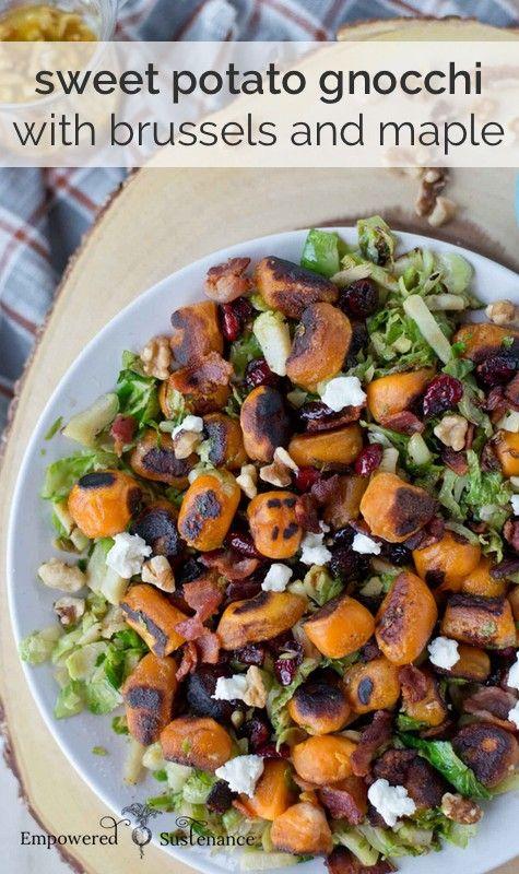 ... Maple | Recipe | Sweet Potato Gnocchi, Paleo Sweet Potato and Gnocchi
