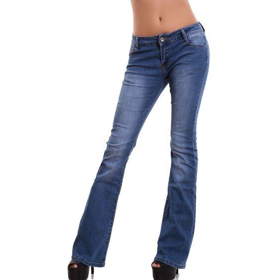 Toocool - Jeans donna pantaloni campana zampa elefante skinny slim aderenti nuovi A1302: Amazon.it: Abbigliamento