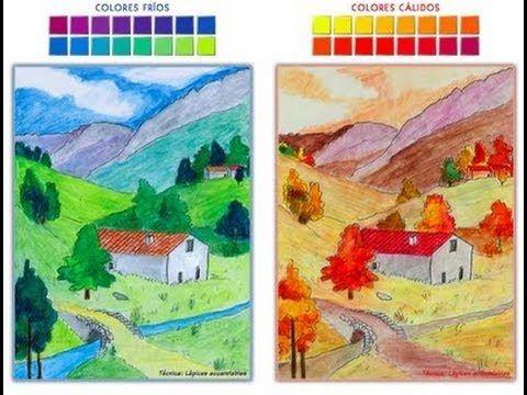 Youtube Dibujos Calidos Y Frios Colores Calidos Y Frios Dibujos Colores Frios