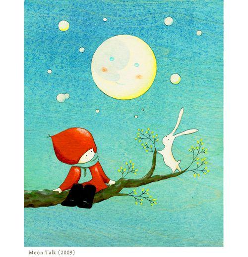 Moon Talk (2009) by Naoko Stoop