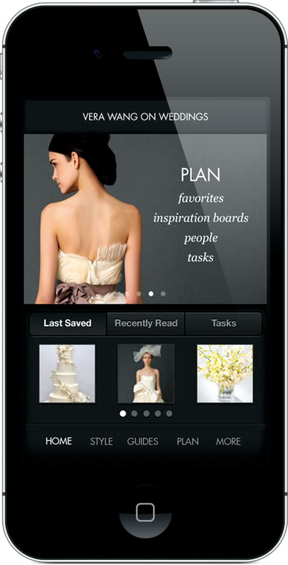 Apps for wedding planning.