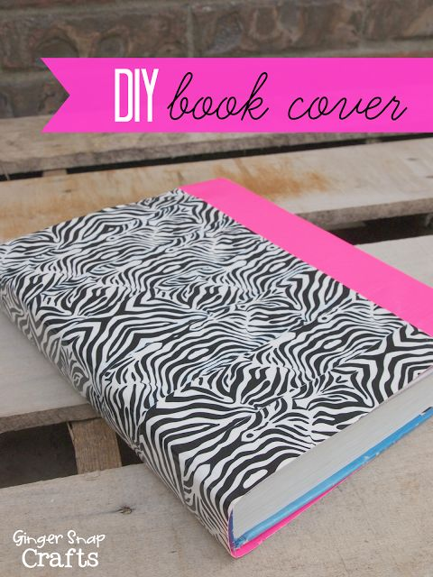 Duct Tape Book Cover Tutorial ~ Tween ducks and duct tape on pinterest