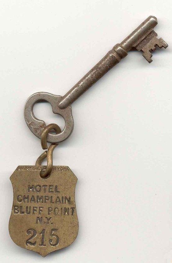 old hotel key