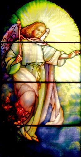 Annunciation 65  The Angel Gabriel's announcement to the young virgin Mary.