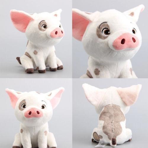 22cm Movie Moana Pet Pig Pua Stuffed Animals Cute Cartoon Plush