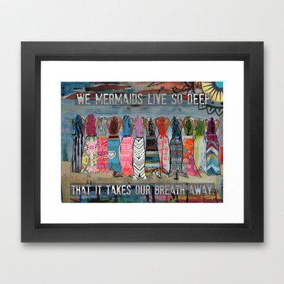 """""""We Mermaids Live Deep"""""""