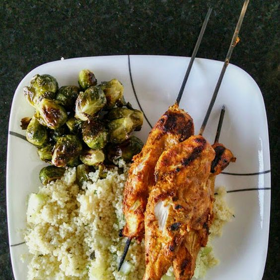 Grilled Chicken Shwarma Recipe Main Dishes with chicken breast tenders ...