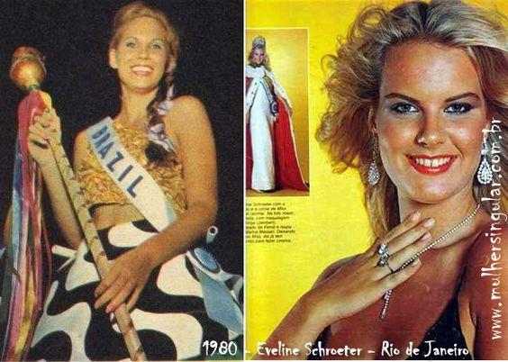 Eveline Schroeter  Miss Brasil 1980