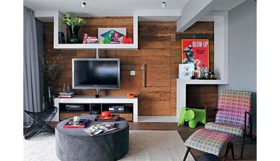 decoração home theater sala - Pesquisa Google