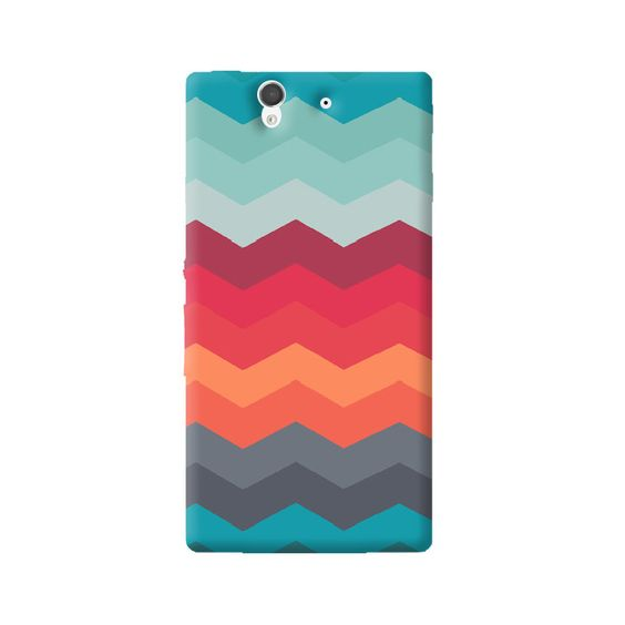 Chevron Levels Sony Xperia Z Case from Cyankart