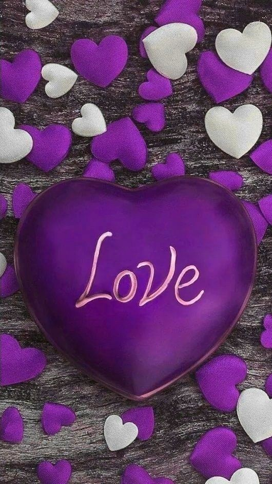 To M R You Didn T Forget Me This Valentine S Day Thank You For Being The Friend I Needed So I Purple Love Love Heart Images Heart Wallpaper Beautiful heart love wallpaper