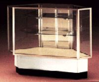 Laminate Display Cases, Laminate Retail Store Showcases and Display Cabinets