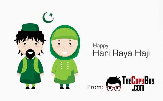 Một poster cho mùa lễ hội Hari Raya Haji