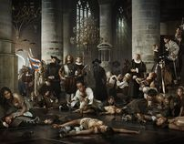 Erwin Olaf - Liberty (Relief of Leiden) by Patrick Bras, via Behance