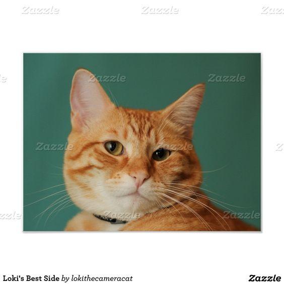 Loki's Best Side Poster