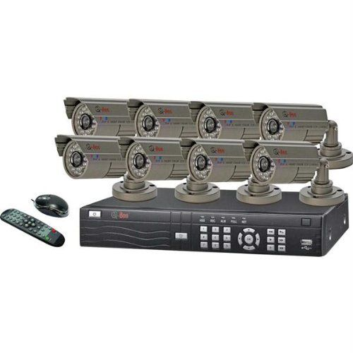 8Channel H.264 Network Dvr With Mobile Phone Surveillance