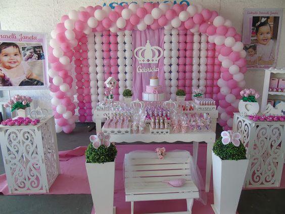ternura em feltro: Festa da princesa Gabriela!!!