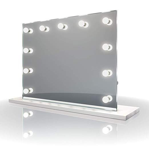 Moonmoon Hollywood Vanity Mirror With Lights Professional Makeup