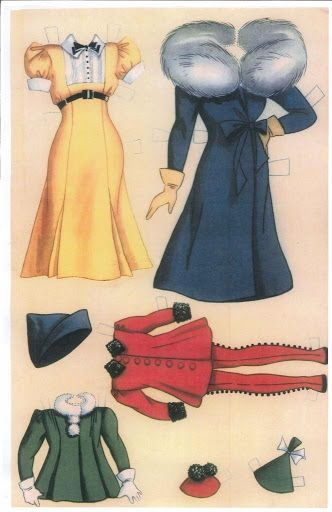 Flapper Fanny little Sister and Chuck Cut-out Book Paper Dolls - Whitman Publishing Co.: Page 1 (of 6)
