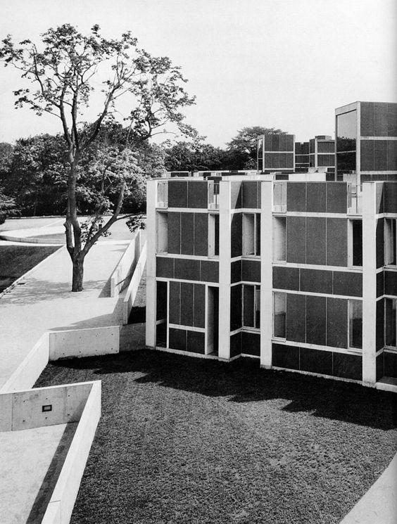 Eleanor Donnelley Erdman Hall, Bryn Mawr College PA (1960 65) | Louis Kahn  | MIT | Archi :: Louis Kahn | Pinterest | Universitet, Sök Och Louis Kahn