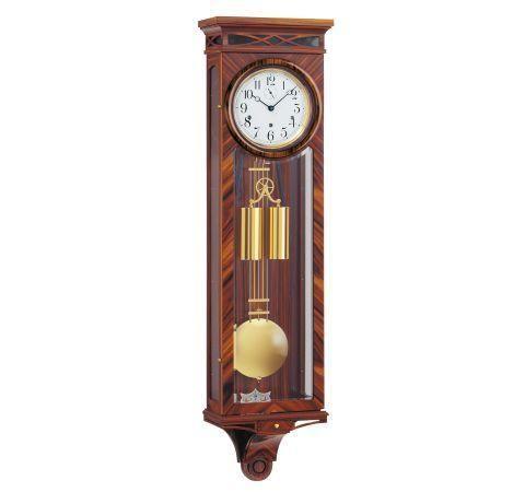 Kieninger Rosewood 2580 96 01 Weight Regulator Wall Clock Westminster Chimes Wall Clock Clock Antique Wall Clock