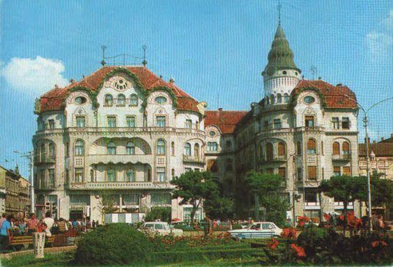 Palatul Vulturul Negru anii 80′ | Oradea in imagini