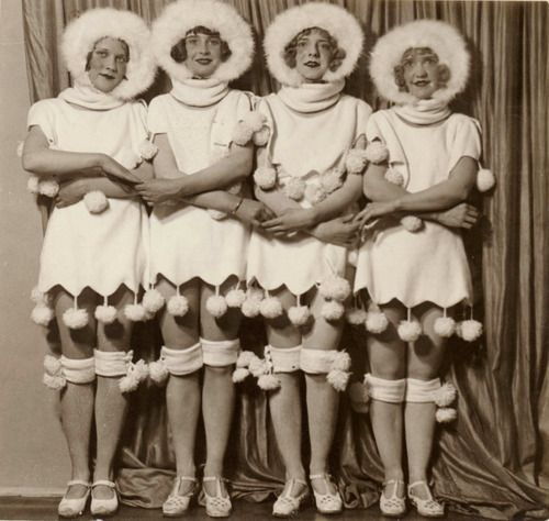 Chorus girls, 1920's by Sam Hood
