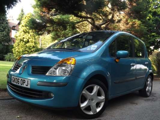 Used 2006 (06 reg) Blue Renault Modus 1.5 dCi 86 Maxim 5dr Euro 4 60+ MPG for sale on RAC Cars