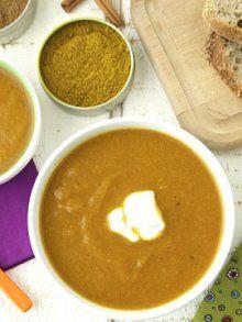 ... cauliflower curry make it cauliflower soup carrots dad baby garam