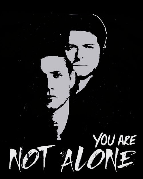 Jensen Ackles you are not alone