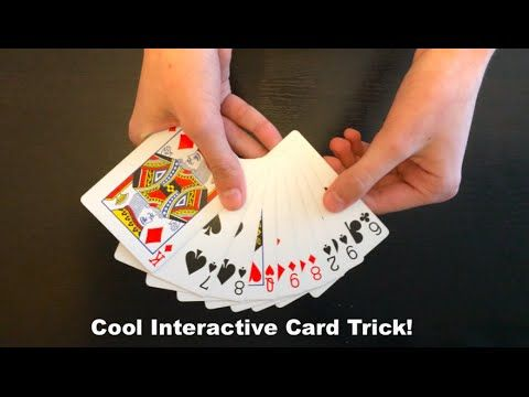 Your Name Loves Interactive Card Trick Card Tricks Revealed Card Tricks Interactive Cards