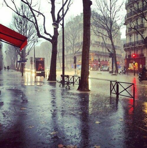 Paris in the rain ☔